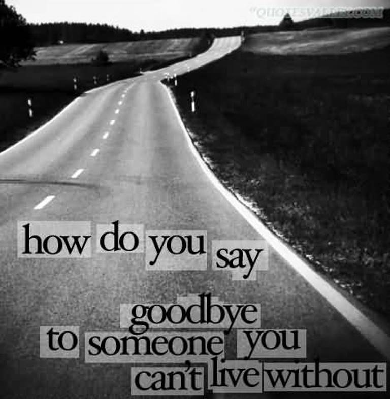 how-do-you-say-goodbye-to-someone-you-cant-live-without