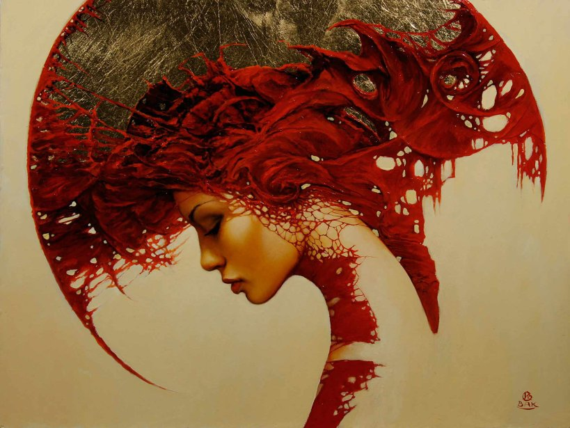 tumblr_static_art-woman-shapes-patterns-fantasy-gothic-red-portrait-painting-surrealism-headdress