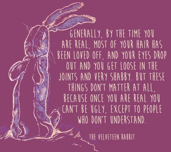 e23b1d77a3144773d37a060c30b340b9--the-velveteen-rabbit-being-ugly